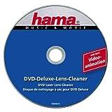 Hama DVD Reinigungsdisc Deluxe (Zur Beseitigung von Schmutz in DVD Laufwerken, Inkl. Videoprogramm, Laser-Reinigungs DVD)