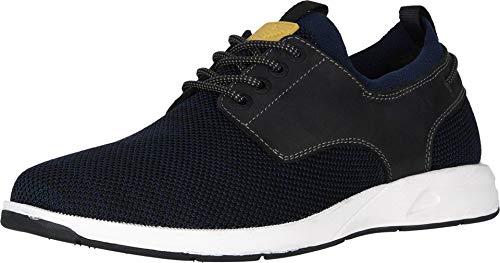 Dockers Mens Vilas Smart Series Boat Shoe with NeverWet, Navy/Black, 10 M