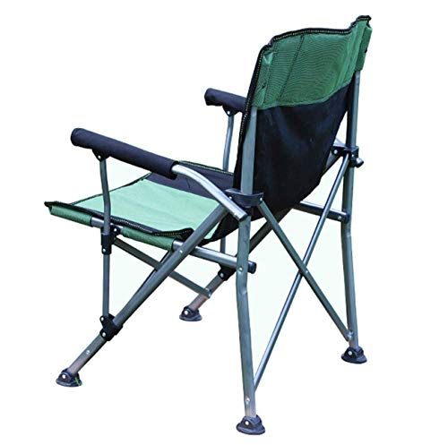 LDM Heavy Outdoor Folding Chair Portable Beach Chair with Weight of 250kg Stool Director Chair Fishing Chair Garden Chair Garden Party