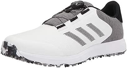 adidas mens Golf Shoe, White/Black/Grey, 10.5 US