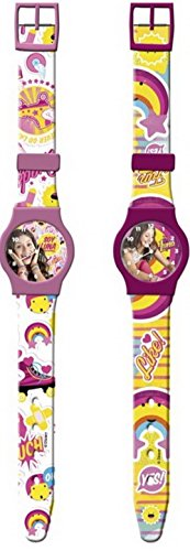 Reloj de pulsera analógico de Soy Luna
