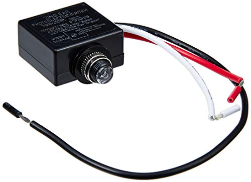 120 Volt Dusk to Dawn Photocell Photoeye Light Sensor Switch, Auto On/Off, Use with Fluorescent, Incandescent or LED Bulbs, Use in light posts and poles