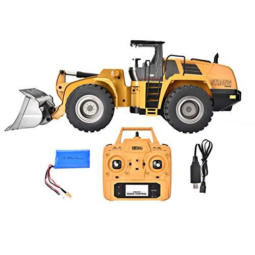Headerbs Kinderspielzeug, 2,4 G Elektrobagger Engineering Vehicle Remote Control Truck RC Spielzeug für Kinder