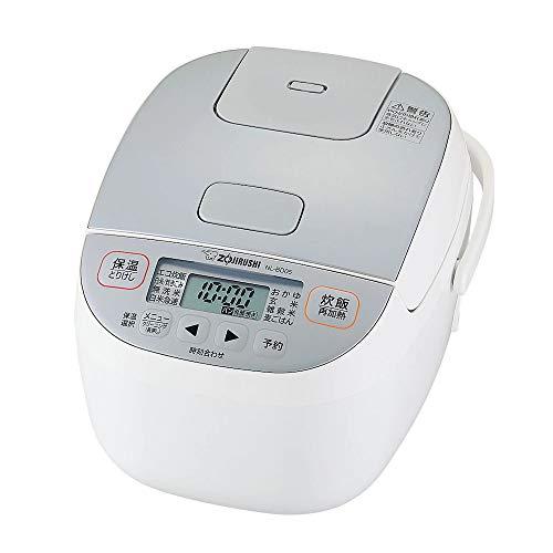 象印マホービン NL-BD05-WA 小容量マイコン炊飯ジャー 3合 ホワイト