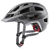 uvex Finale 2.0 Casco de Bicicleta, Adultos Unisex, Grey Mat, 52-57 cm