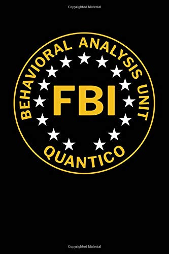 Behavioral Analysis Unit FBI Quantico: Blanked Lined 100 Page 6 by 9 inch Journal for Writing and Taking Notes