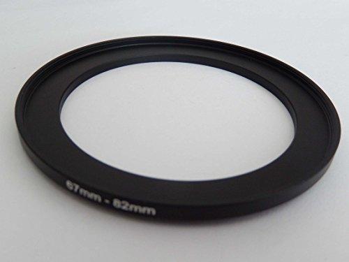 vhbw Adaptador de Filtro Step up 67mm-82mm Negro para cámaras Tamron 16-300 mm F3.5-6.3 Di II VC PZD Macro