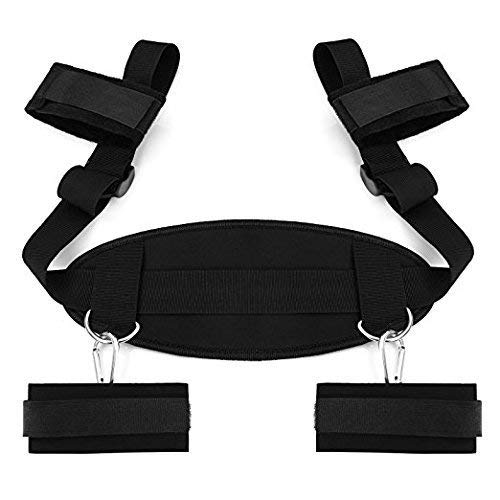 New TKmuge Bondageromance Kit with Adjustable Soft Ankle Cuffs Handcuffs for Couples Adventure Toy P...