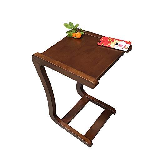 CDXZRZYH Mesa de Madera Maciza Mesa Perezosa Escritorio de computadora Mueble sofá Mesa gabinete Esquina Mini Mesa de café