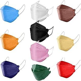 KF94 cubrebocas Colores Surtidos,kf94 cubrebocas Coreanos cubrebocas Adulto,cubrebocas 4 Capas Adulto,kf94 cubrebocas para...