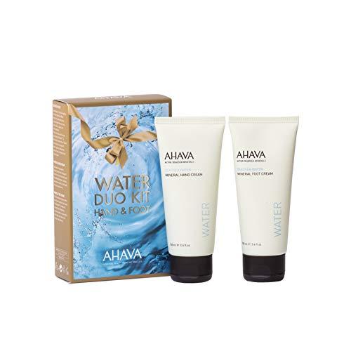 AHAVA Kit Duo Agua Crema de Manos y Pies Incluye - 2 Piezas