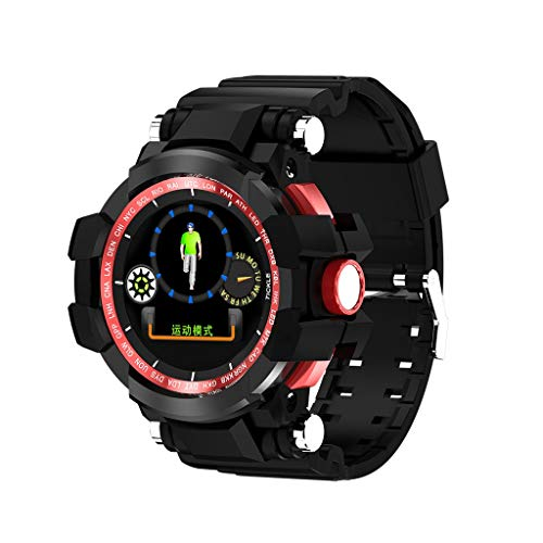 LQIAN X6 Plus Sports Smartwatch, 1.04 Inches Wristband Waterproof IP68 Smart Fitness Tracker Activity Wrist Watch with Heart Rate Monitor Sleep Monitor Call Notice Ladies Mens for Android iOS