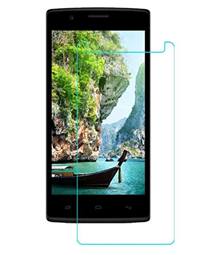 Timbu Edge to Edge Hammer proof screen guard 9H Hardness Anti Fingerprint Anti Glare 033mm HD+ view Crystal Clear Precusely Engineered Tempered Glass for Karbonn A18 Plus