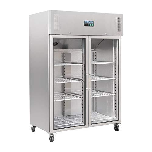 Polar Gastro Kühlvitrine 2-türig 1200L