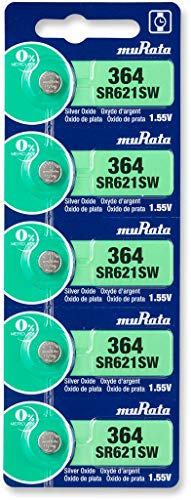ムラタ(MURATA) SR621SW (364)酸化銀電池 1シート(5個入)