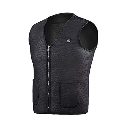 Mannen vrouwen buiten USB-infrarood verwarming vest verwarming winter flexibele elektrische thermische kleding vest voor sport wandelen