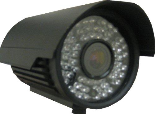 Vonnic C107B 1/3-Inch Sony CCD 520 TV Lines 60 IR LED Night Vision 200-Feet 2.8-12mm Varifocal Bullet Camera (Black)