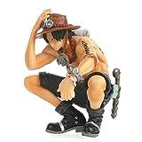 Khosd Figurine One Piece P. Figur Von Puma D. Ace PVC Figurine De Collection pour Les Fans De Mangas, 14cm