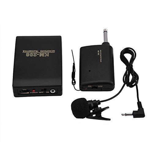 DAUERHAFT Estupendo y práctico Kit de micrófono de micrófono con Clip pequeño para enseñar presentaciones en reuniones