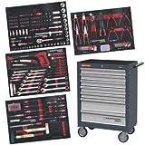 Servante d'atelier 7 tiroirs 339 outils Kraftwerk
