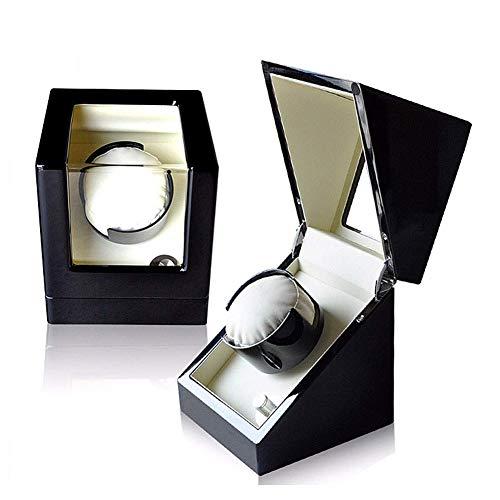 DZX Caja enrolladora de Reloj automática de Madera, 5 Modos de rotación...