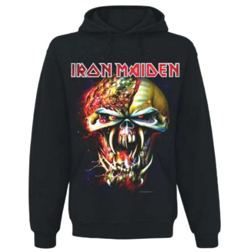 Collectors Mine Herren Sweatshirt Iron Maiden-Final Frontier, Gr. 54 (XXL), Schwarz (Schwarz)