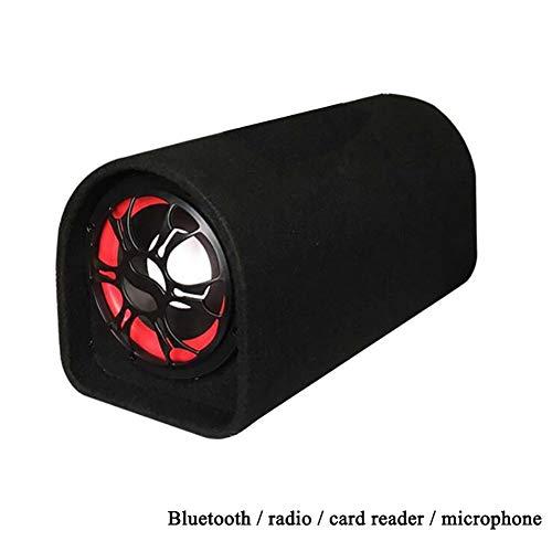 ANAN DC12V-24V/AC110V-240V Bluetooth luidspreker, met FM-radio afstandsbediening stereo speaker bass subwoofer voor motorfietsen/thuis/auto/computer/mobiele telefoon