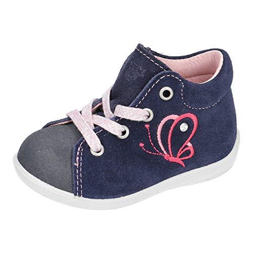 RICOSTA Kinder Stiefel Sandy von Pepino, Weite: Mittel (WMS), Spielen verspielt detailreich Freizeit Boots Leder Kinder,Nautic,21 EU / 5 Child UK
