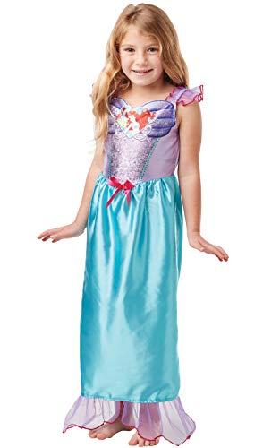 Rubie's officiële Disney prinses pailletten Ariel zeemeermin klassieke kostuum, kinderen