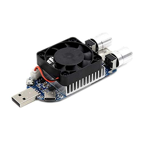 Módulo electrónico Corriente electrónica de corriente constante ajustable USB Envejecimiento de descarga de descarga de la línea Módulo de detector web-UL001 Equipo electrónico de alta precisión