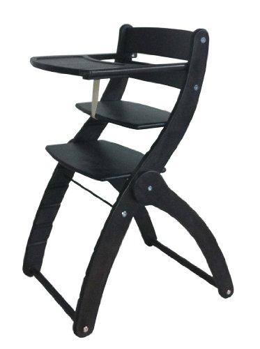 Schardt Chaise Haute en Hàªtre Massif - Charly - Noir