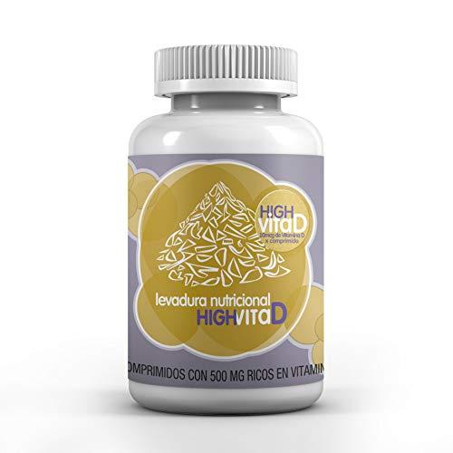 Energy Feelings Levadura Vitamina D 60 comprimidos de 500mg vitamina D vitamina B12 zinc 60 g