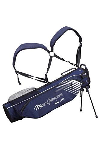 """MacGregor Golf MACTEC 4.0 Golf Club Flip Stand Bag, 6.5\"""" , Marine"""