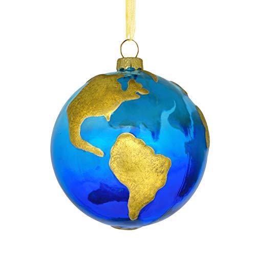 Hallmark Signature Premium Globe Glass Christmas Ornament