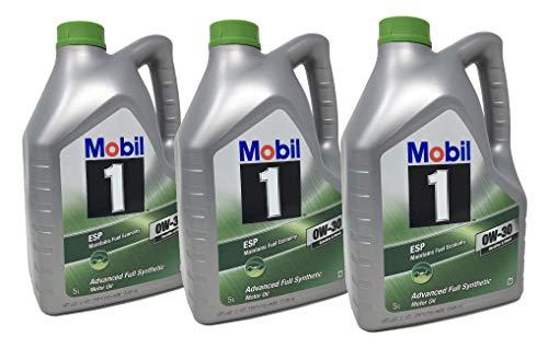 Mobil 1 motorolie ESP 0W-30 Advance volledig synthetisch, verpakking 15 liter