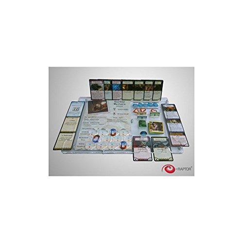 Raptor era93699 – Jeux de Cartes, Board Game Organizer électronique, Arkham Horror