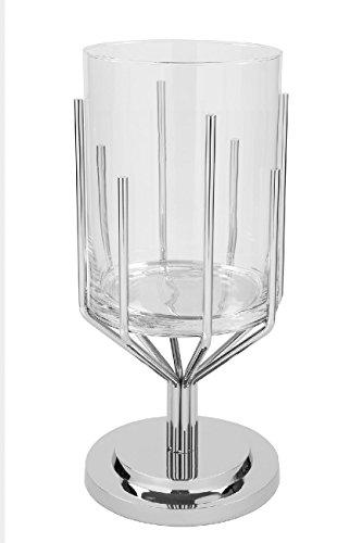 Fink - Luxor - Windlicht, Kerzenleuchter - Höhe: 63 cm - mit Glaszylinder