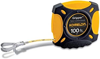 Komelon 9901 100-Feet Gripper Closed Case Long Steel Tape Measure
