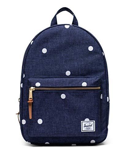 Herschel Grove X-Small Backpack Polka Dot Crosshatch Peacoat