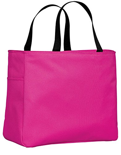 Port & Company luggage-and-bags Improved Essential Tote OSFA Tropical Pink