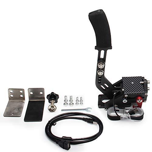 Bruce & Shark 14-Bit-USB-Handbremse für Rennspiele Lenkradständer G27 / G29 G920 PC Schwarz