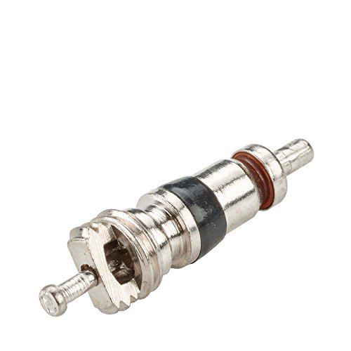 100x Ventileinsatz Autoreifen TRC1 Hofmann Power Weight, Ventil Einsatz vernickelt Ventileinsatz Auto, Reifenventil