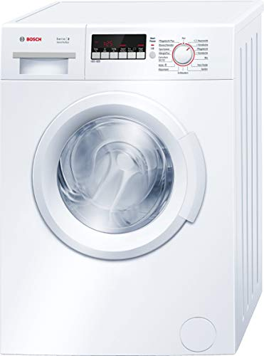 Bosch WAB28222 Serie 2 Waschmaschine Frontlader / A+++ / 153 kWh/Jahr / 1400 UpM / 6 kg / weiß / VarioPerfect / ActiveWater Mengenautomatik
