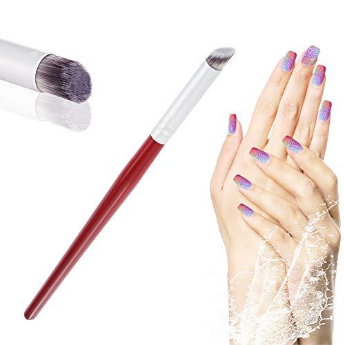 Hanyousheng Nail Art Rendering-Werkzeuge,Tupfpinsel Nageldesign Pinsel Pigmentpinsel,Pigment Applicator für Den Professionellen Gebrauch Oder Den Gebrauch zu Hause für UV Gel und Falsche Nägel