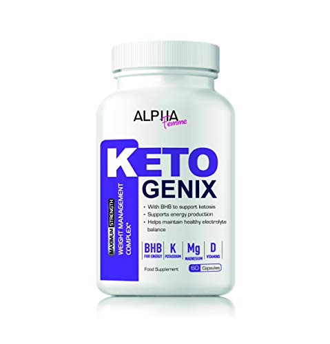 Alpha Femme Keto GENIX - Weight Loss Support Formula, 1 Months Supply