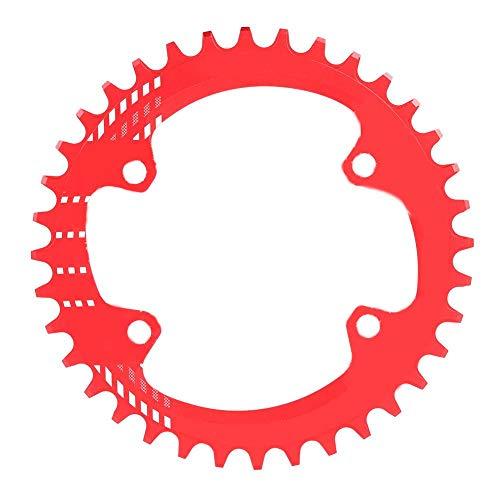 Schmales breites Kettenblatt 96mm BCD Fahrrad Einzelkettenblatt Schutz Aluminiumlegierung für M6000 M7000 M8000 Shimano Mountainbike