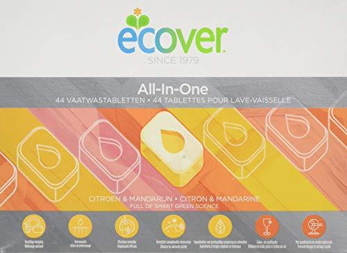 Ecover Spülmaschinentabs, Alles in einem, 44 Tabs, 0.88kg
