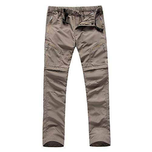 Unisex Water Resistant Fleece Lining Winter Trousers Warm Outdoor Workwear Hiking Skiing Pants with Mulit Zip Pockets Lightweight Stretch Quick Dry Trousers Outdoor hiking Pants with Zipper Pockets