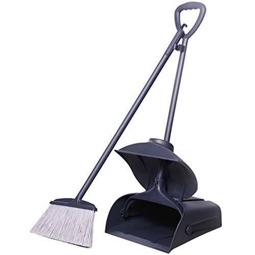 Herramientas de limpieza Herramienta de limpieza de piel de plástico combinada para el hogar Herramienta de limpieza de plástico combinada de basura de la pala de basura adecuada para el dormitorio y