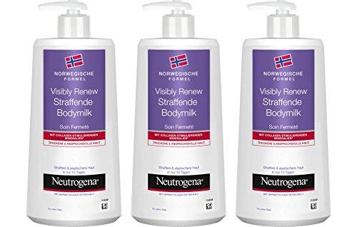 Neutrogena Visibly Renew Leche Corporal - 3 Unidades x 400 ml.